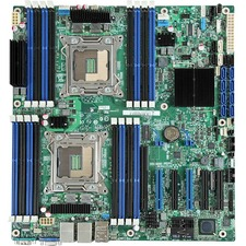 Intel S2600CP4 Server Motherboard - Intel C600-A Chipset - Socket R LGA-2011 - 5 Pack
