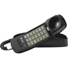 ATT 210BK AT&T Corded TrimLine Lighted Keypad Phone ATT210BK