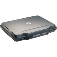 """Pelican HardBack 1085CC Carrying Case (Attaché) for 14"""" Notebook - Black"""