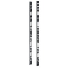 APC Cable Management - Cable management lacing bar (vertical) - black - 45U (pack of 2 )