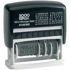COS 011090 Cosco 2000 Plus Micro Message 6-year Dater Stamp COS011090