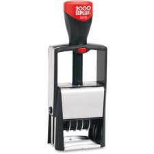 COS 011200 COSCO 2000 PLUS Self-Inking Heavy Duty Stamps with Microban COS011200