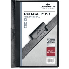 DBL 221401 Durable Duraclip Report Covers DBL221401