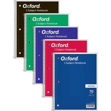 TOP 65000 Tops Wide Rule 1-subject Spiral Notebook TOP65000