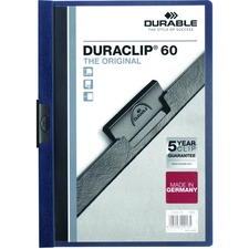 DBL 221428 Durable Duraclip Report Covers DBL221428