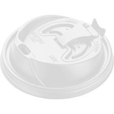 Dart Optima Reclosable Lid - 100 / Pack - White