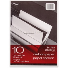 MEA 40114 Mead Reusable Sheets Carbon Paper MEA40114