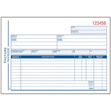Adams ATC51B Invoice Book
