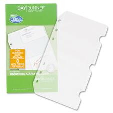 DRN 043101 Day Runner Business/Credit Card Holder Pages DRN043101