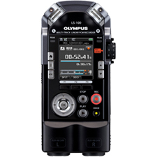Olympus LS100 4GB Internal Memory SD/SDHC Slot Linear PCM Voice Recorder With Battery