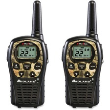 MRO LXT535VP3 Midland Radio LXT535VP3 24-mile Range 2-Way Radio MROLXT535VP3