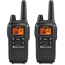 RADIOS,2WAY,PAIR,26MILE,BK