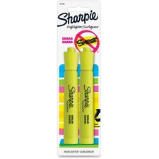 SAN 25162PP Sanford Sharpie SmearGuard Tank Style Highlighters SAN25162PP