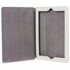 I/OMagic Folio - Protective case for web tablet - synthetic leather - white - for Apple iPad 2