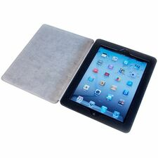 I/OMagic Folio - Protective case for web tablet - synthetic leather - black - for Apple iPad 2