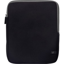 "V7 Ultra TD23BLK-GY-2N Carrying Case (Sleeve) for 10.1"" Tablet PC, iPad - Black"