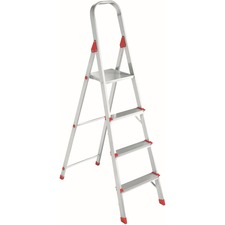 DAD L234604 Louisville Ladders 4' Alum Platform Step Ladder DADL234604