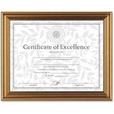 DAX N1818N1T Burns Grp. Antique-colored Certificate Frame DAXN1818N1T