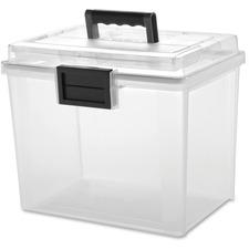 IRS 110350 Iris Weather Tight Portable File Box IRS110350