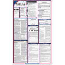 TFP E10CA TFP Data Sys. California State Labor Law Poster TFPE10CA
