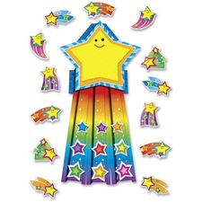 CDP 110143 Carson Shooting Stars Bulletin Board Set CDP110143