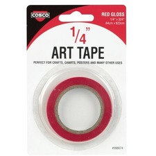 COS 098074 Cosco Glossy Art Tape COS098074