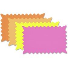 COS 090251 Cosco Fluorescent Colors Custom Paper Signs COS090251
