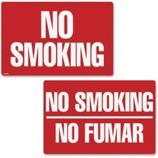 COS 098068 Cosco 2-sided No Smoking Sign COS098068