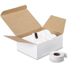 COS 090954 Cosco Contact 22-77 Labelers 2-line White Labels COS090954