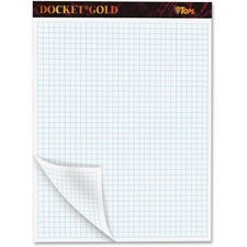 TOP 63752 Tops Docket Gold Planner Pad TOP63752