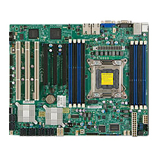 Supermicro X9SRE-F Server Motherboard - Intel C602 Chipset - Socket R LGA-2011 - Retail Pack - ATX - 1 x Processor Support - 256 GB DDR3 SDRAM Maximum RAM - Serial ATA/600, Serial ATA/300 RAID Supported Controller - 3 x PCIe x16 Slot