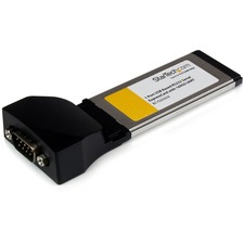 StarTech.com 1 Port ExpressCard to RS232 DB9 Serial Adapter Card w/ 16950 - USB Based