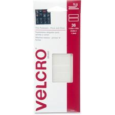 VEK 91639 VELCRO Brand Press/Close Thin Fasteners VEK91639