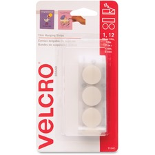VEK 91640 VELCRO Brand Removable Hanging Strip Coins VEK91640