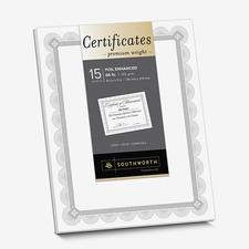 SOU CTP2W Southworth Spiro Design Premium Certificates SOUCTP2W