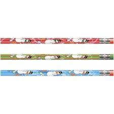 MPD 52071B Rose Moon Inc. Snowman Seasonal Pencil MPD52071B