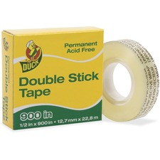 DUC 1081698 Duck Brand Double-Stick Tape Dispenser Refill Roll DUC1081698