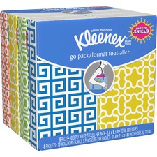 KCC 11974 Kimberly-Clark Kleenex Go Pack Tissue KCC11974