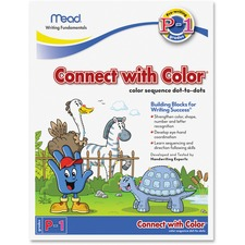 MEA 48038 Mead Connect with Color Grades P-1 Workbook MEA48038