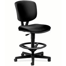 HON 5705SB11T Hon Volt Seating Leather Adjustable Task Stool HON5705SB11T