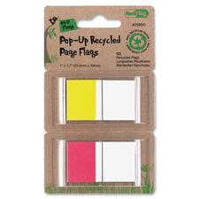 RTG 25800 Redi-tag Pop-up Recycled Page Flags RTG25800