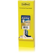 Lil' Drug Store Maximum Strength Zantac 150 Dispenser Refill Packets - For Heartburn, Sour Stomach, Acid Indigestion - 20 / Box