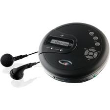 GPX PC332B CD Player - Black