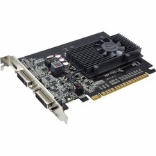 EVGA (02G-P3-2617-KR) NVIDIA GeForce GT 610 2GB DDR3 | 810 MHz Clock, 1000 MHz Memory | PCI Express 2.0, DVI, Mini HDMI