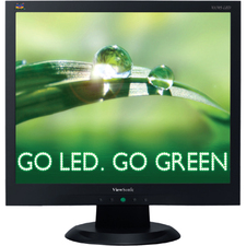 "Viewsonic VA705-LED 17"" LED LCD Monitor - 4:3 - 5 ms - TAA Compliant"