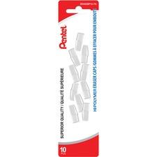 PEN ZEH02BP10 Pentel Hi-Polymer Eraser Caps PENZEH02BP10
