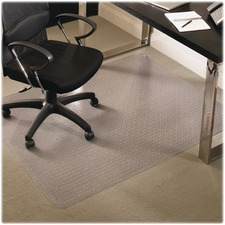 ESR 122371 ES Robbins Everlife Med-pile Rectangular Chairmat ESR122371