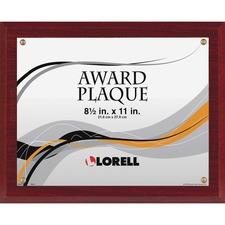 LLR 31887 Lorell Mahogany Award-a-Plaque LLR31887