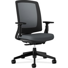 HON 2281VA19T HON Lota Seating Black Frame Mesh Back Work Chairs HON2281VA19T