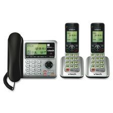 VTE CS66492 Vtech DECT 6.0 2 Handset Cordless Phone System VTECS66492